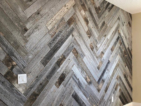 like the idea of Barn Board? But it's to rustic for you?