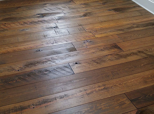 Hemlock Wide Plank Flooing