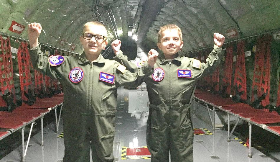 Houston & Jack in KC-135
