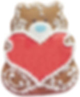 Bella Bakery Kid Bear with Heart - Sofi Bakery USA