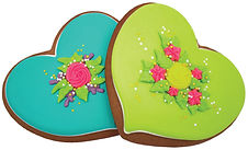 Bella Bakery Easter Hearts - Sofi Bakery USA
