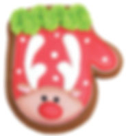 Bella Bakery Reindeer Cookie - Sofi Bakery USA