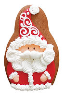 Bella Bakery Gingerbread Santa - Sofi Bakery USA
