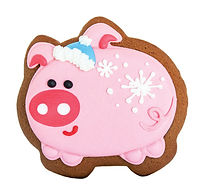 Bella Bakery Gingerbread Pig - Sofi Bakery USA