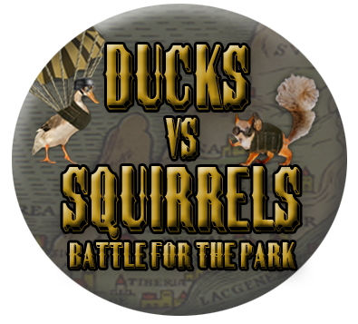 Ducks vs Squirrels by Andrew Perry
