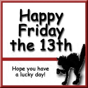 In honor of Friday the 13th, a brief history on friggatriskaidekaphobia