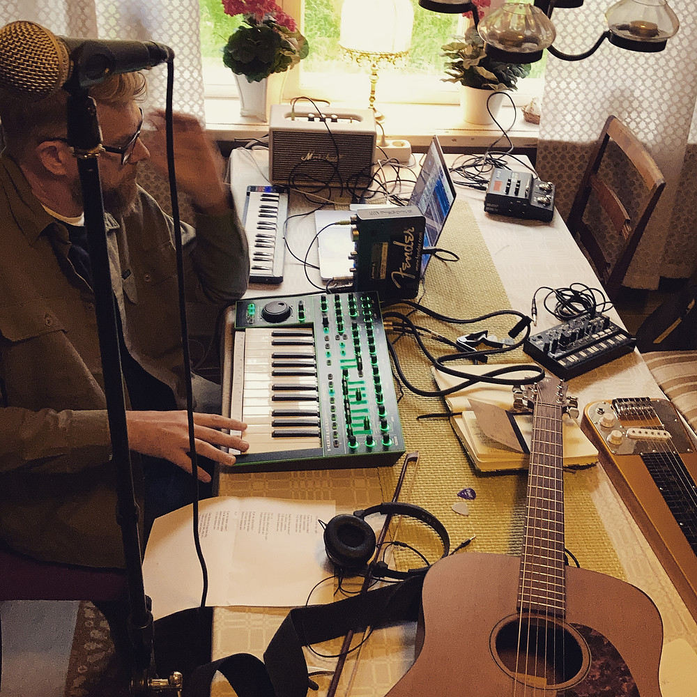 Man Rave i Woodstock studios