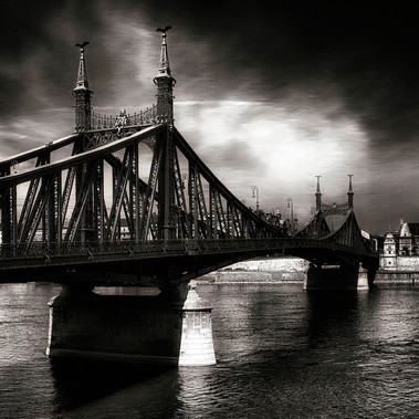 Szabadsag Bridge (Budapest, 2020)