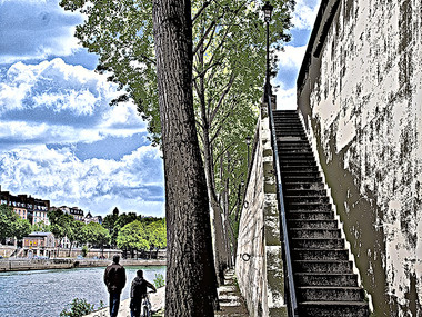 Shared Footpath (Paris, 2010)