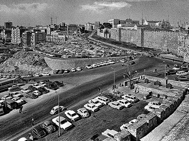 Jaffa Gate Terrace (Jerusalem,1967)