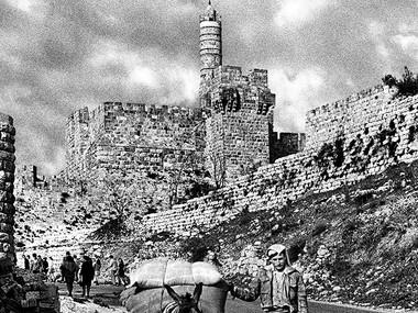 Halfway Down Hilltown (Jerusalem,1976)
