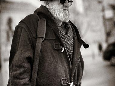 Street Portrait (Budapest, 2020)