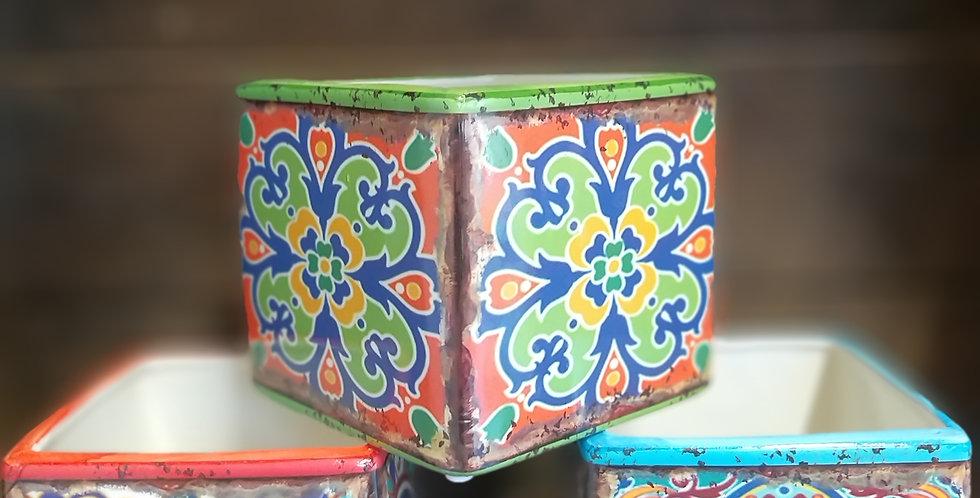Ceramic Tegal Indonesian Pots 11.5cms