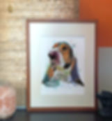 custome made pet portrait personalized painting custome made portrait personalized painting portrait family Paintedlives custom made art from photo julieta lima