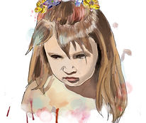 custome made portrait personalized painting Paintedlives custom made art from photo julieta lima