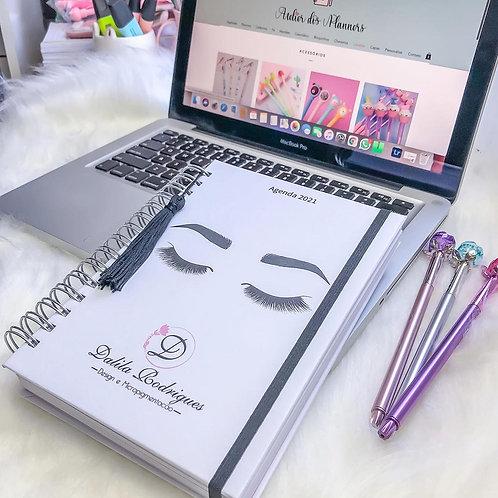Agenda Designer de Sobrancelha