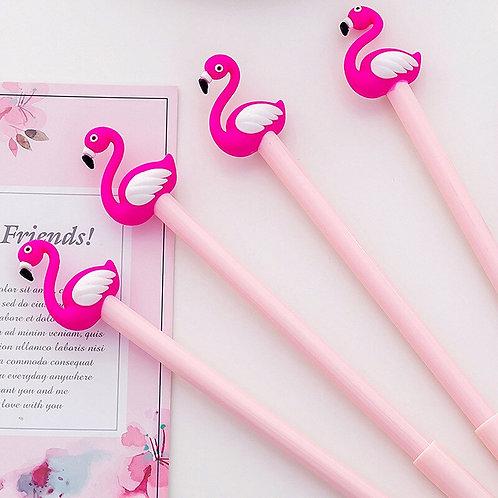 Caneta em gel Flamingo