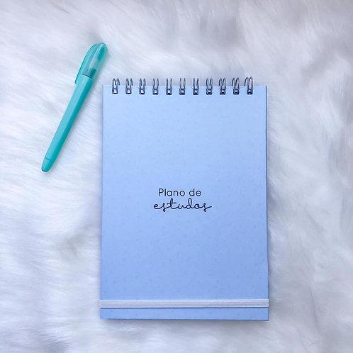 Plano de estudos diário