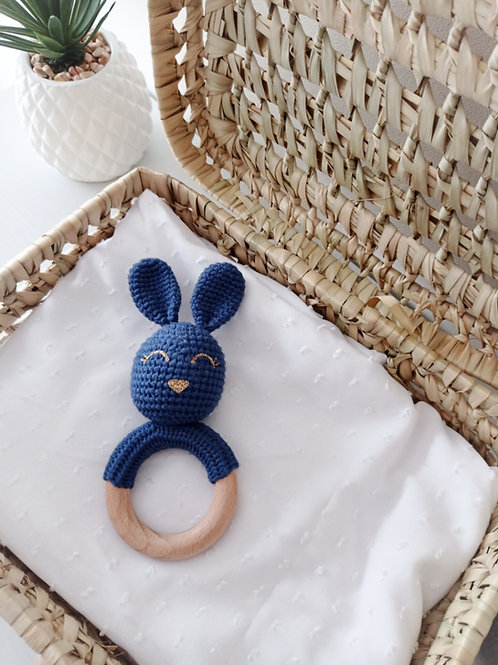 Hochet lapin au crochet