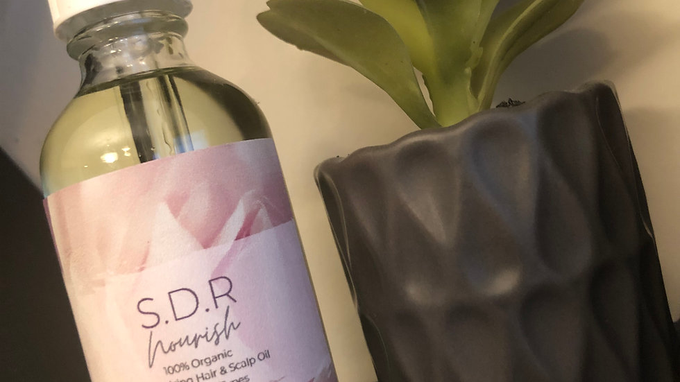 SDR Nourish: Soothing Scalp Hair Oil
