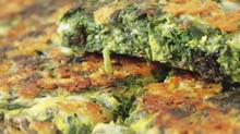 Lançamento! Omelete de Espinafre