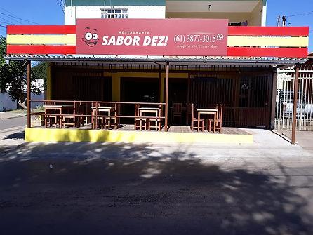Restaurante Sabor Dez, São Sebastião, Brasilia, DF