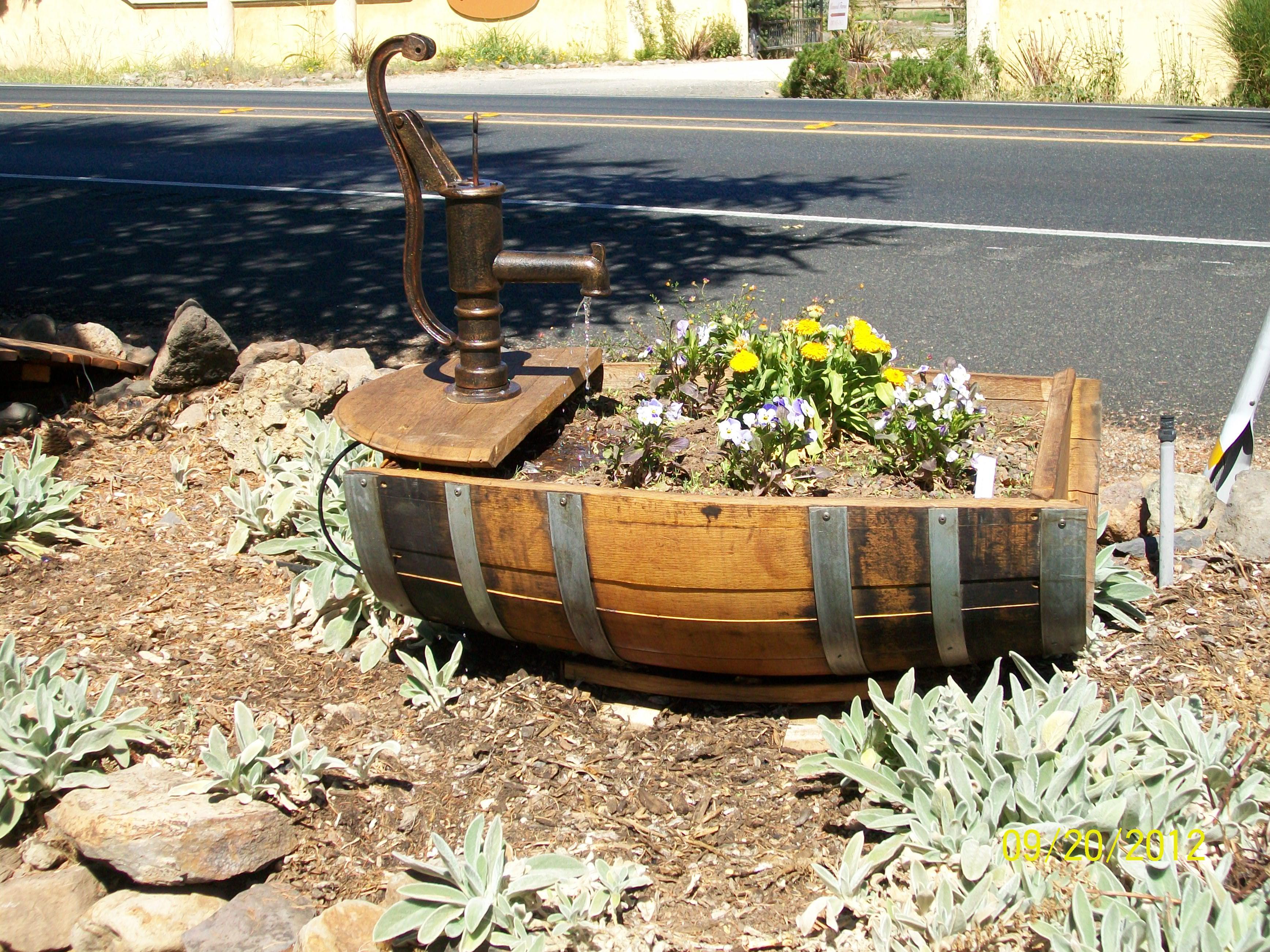 Custom Trough Planter