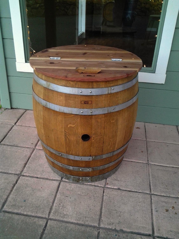 Storage Barrel$185