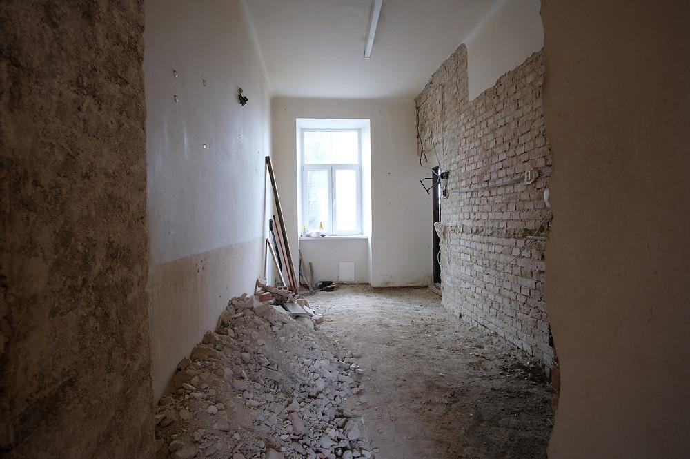 Rekonstrukce garsoniéry v Brně