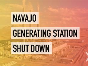 Navajo Generating Station Shut Down