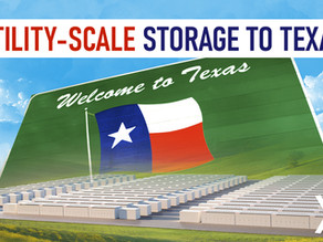 Even Batteries Are Bigger in the Lonestar State: Tesla Taking Utility-Scale Storage to Texas