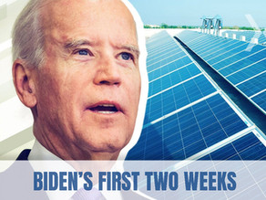 Biden's First Two Weeks