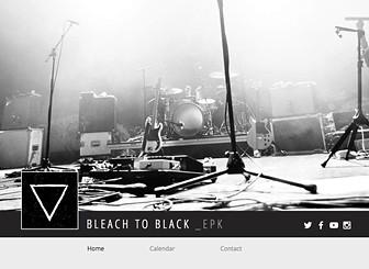 band epk template - epk musicians website template wix
