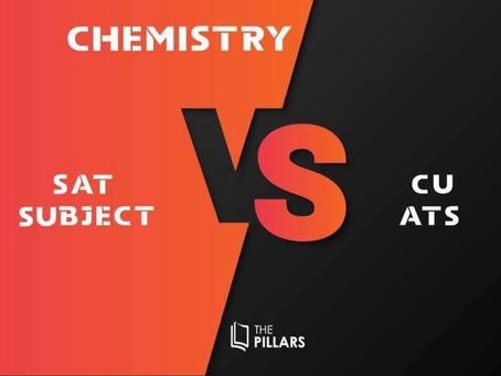 🎯เทียบกันชัดๆ ว่า SAT Chemistry VS CU- ATS Chemistry ต่างกันยังไง🎯