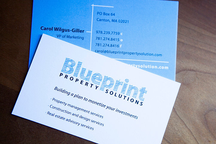 Graphic designer marketing consultant print design boston ma blueprint property solutions malvernweather Choice Image