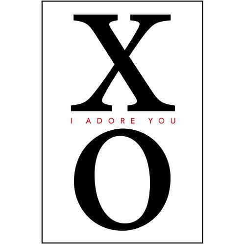 XO I adore you
