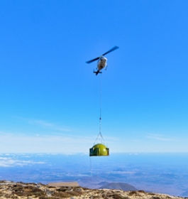 Multi Dome Helicopter Drop