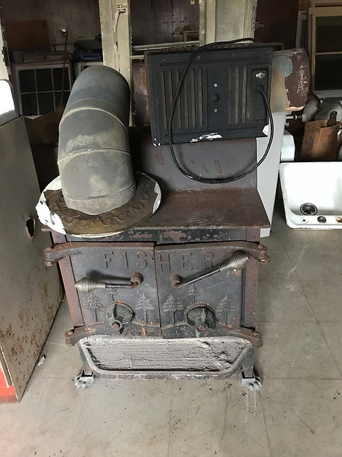 Fisher Fireplace Series Grandma Bear Stove- SOLD
