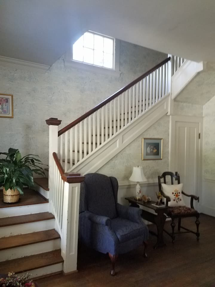 stairway in historic house- prm