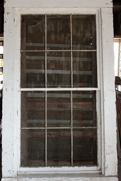1850s, 6-over-6, double hung window