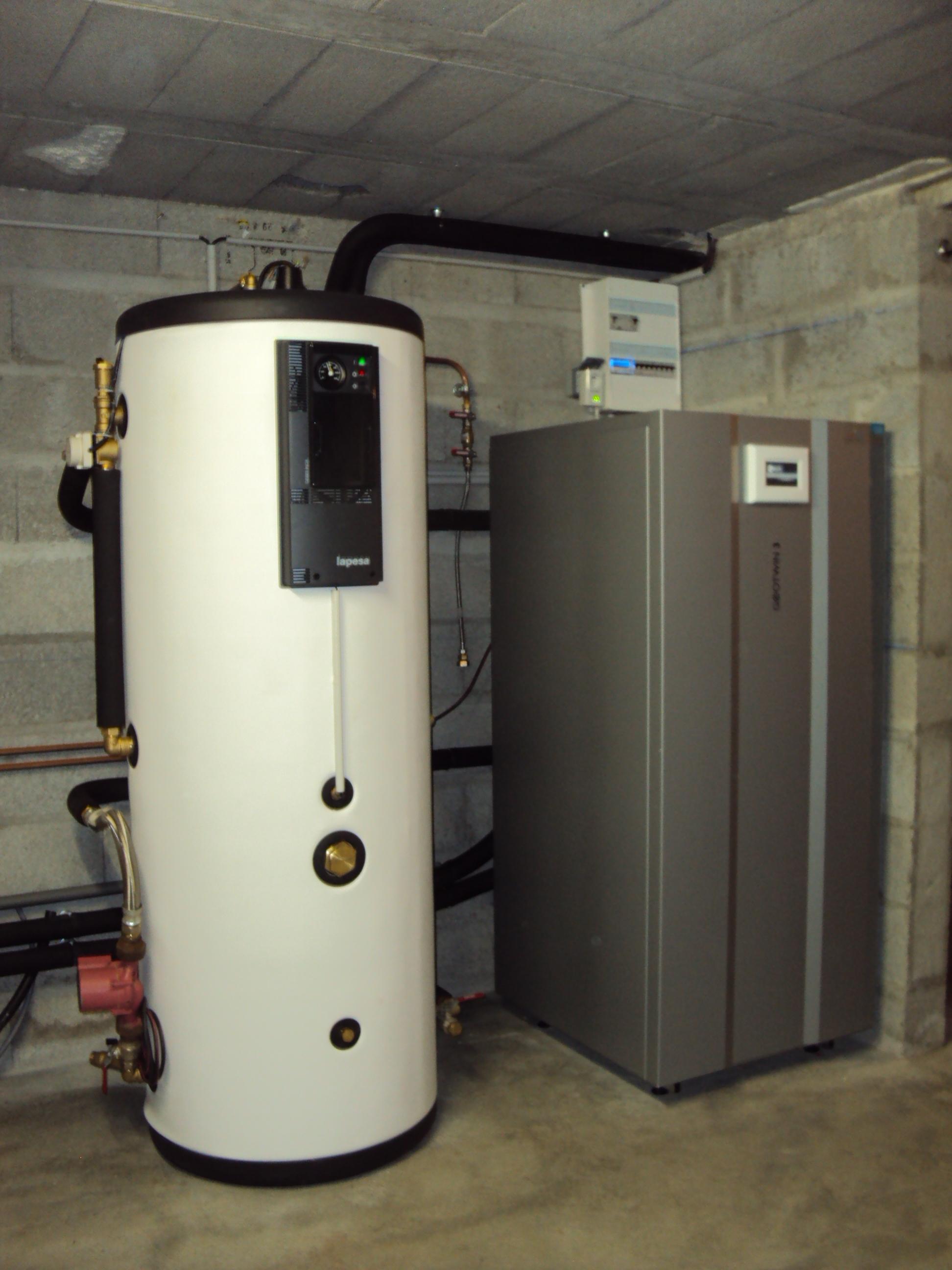 Geothermie pour Chauffage + ECS