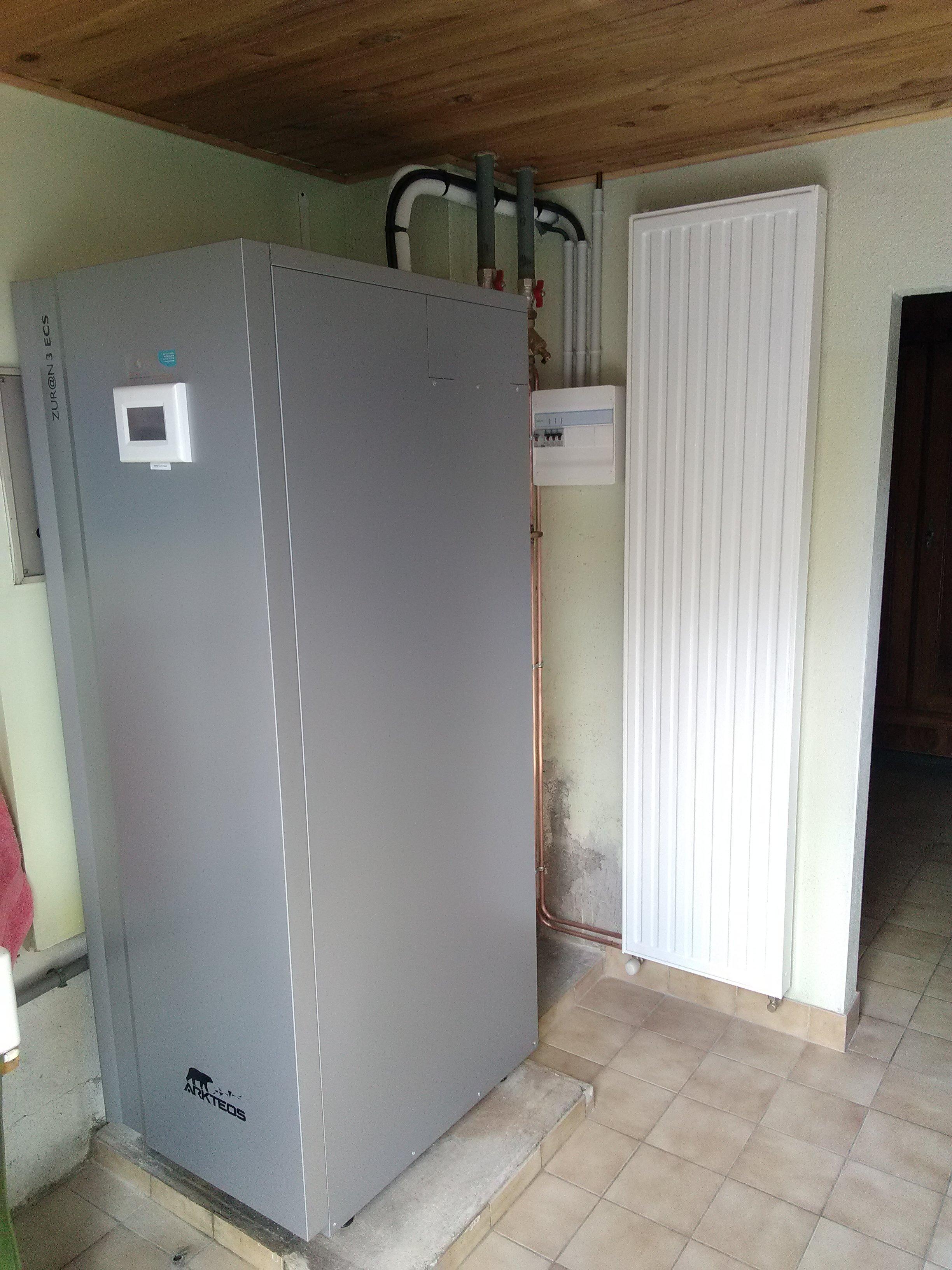 Aerothermie pour Chauffage + ECS