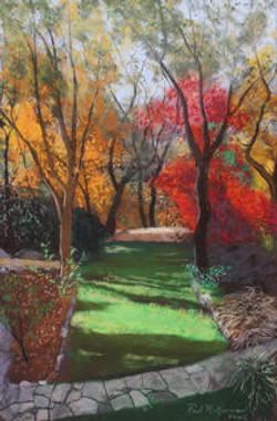 Falls Splendor in the Garden