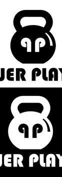Power Playlist B/W Logo