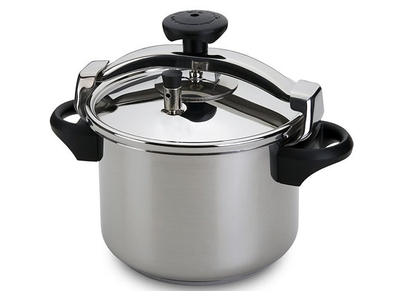 Pressure Cooker - No basket - Traditional Stainless Steel