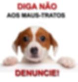 banner_diganaomaustratosanimais_letras_m