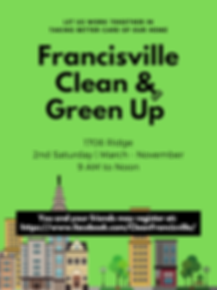 Francisville Clean & Green Up_Poster.png