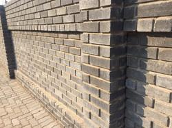 Cement Semi Face Satin Face Charcoal Brick