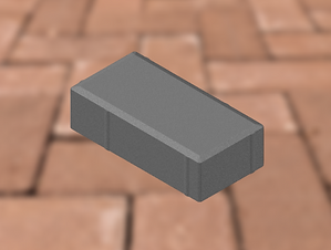 Bevel Paving - BISCUIT 25MPA