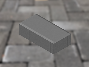 Bevel Paving - CHARCOAL 25MPA